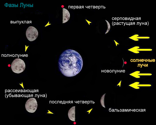 четверти луны когда знакомиться