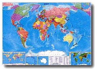 Политическая Карта Мира В Высоком Разрешении