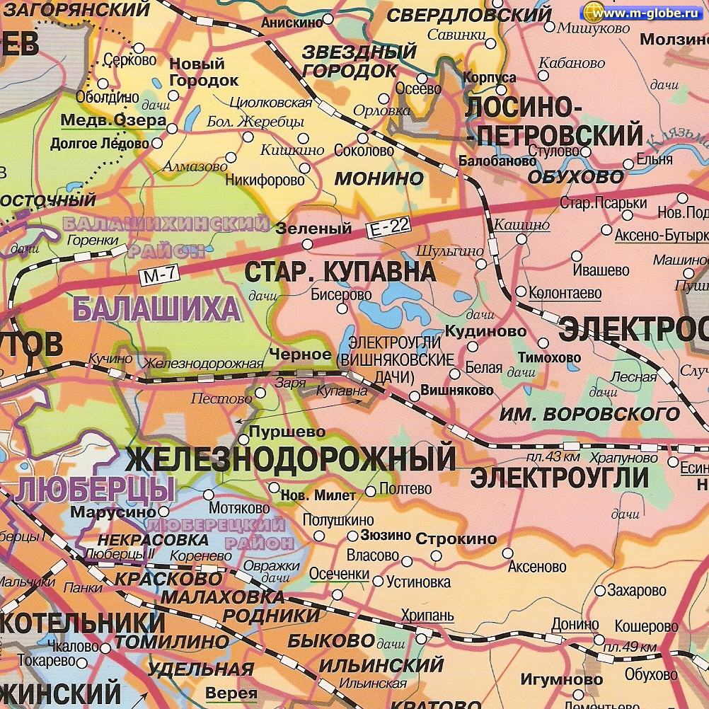 карта московской области скачать бесплатно - фото 5